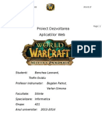 Proiect WEB