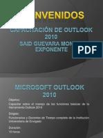 Capacitación de Outlook 2010