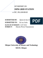 Visit Report ISPR, NTDC