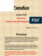 19. Excursus-Christ in the Old Testament, Part 1