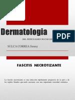 CAso Clinico fascitis necrotizante