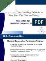 U.S. Communities Government Purchasing Alliance