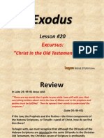 20. Excursus-Christ in the Old Testament, Part 2