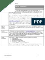 online syllabus for website