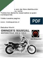 Lifan Lf250b Owner s Manual PDF
