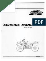 Linhai 260 Workshop Manual