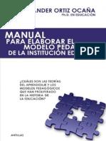 Manual Para Crear Modelos Pedagogicos