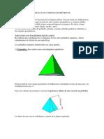 Áreas Los Cuerpos Geométricos