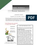 Spanish Verb Wheels