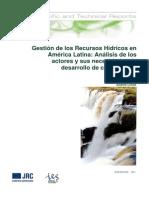 INDIJ Et Al 2011 Gestion de Los Recursos Hidricos-SPANISH