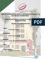 Administración Pública - Deberes, Derechos y Responsabilidades