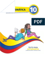 Texto de Estudiante 10mo EGB Matematica