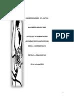 Articulo de Publicacion Dinamica Organizacional