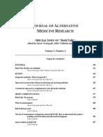 Alternative Medicine Articles