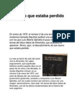 Spinetta Luis Alberto - El Tesoro Que Estaba Perdido