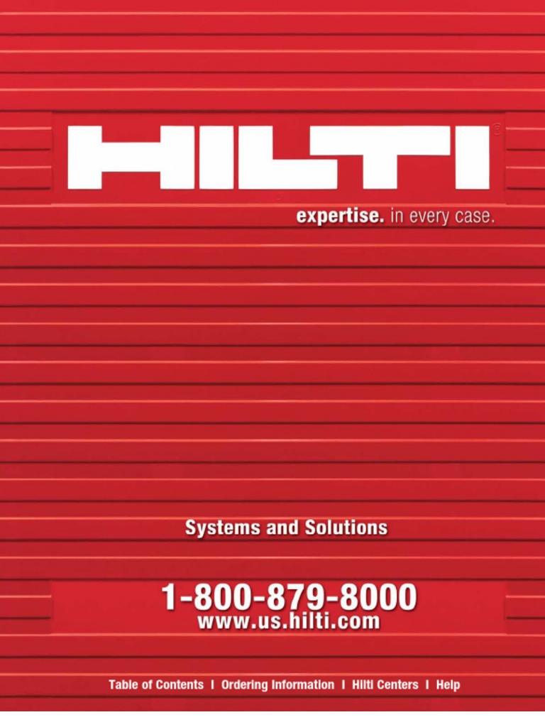 HILTI System & Solution | Blade | Drill