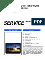 Samsung Gt-p7510 Service Manual r1.0