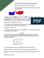 2972270 Matematica Exercicios Resolvidos Geometria Areas I