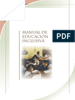 Manual Educa c i on Inclusiv A