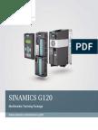 Sinamics g120 Training Booklet En