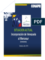 Venezuela en Mercosur CONAPRI