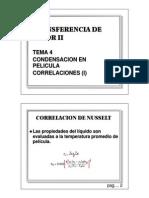 Tema 4 Condensacion - Correlaciones