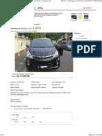 Avanza Veloz 2013 - Mobil Dijual DKI Jakarta - Jakarta Pusat - Berniaga.com