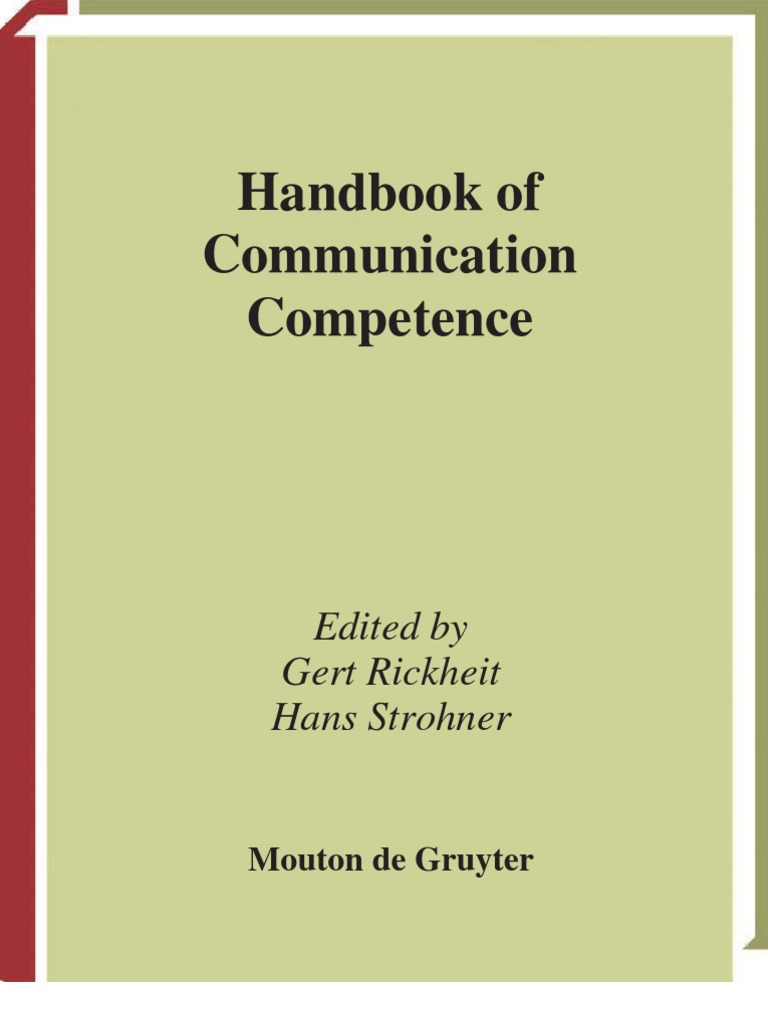 Handbook of Communication | Linguistics | Science