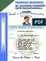 Descuentos - Matematica Financiera II