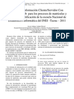 37 2013 Arcaya Arhuata LU FAIN Informatica Sistemas 2012 Resumen