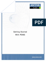 Getting Started With PDMS