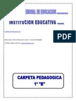 CARPETA PEDAGOGICA PLANTILLA