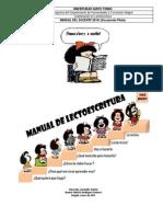 Manual de Lectoescritura Para El Docente