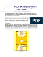 Basketball Basics for New Players and Coaches