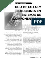 Guia de Fallas y Soluciones en Sistemas de Componentes de Audio