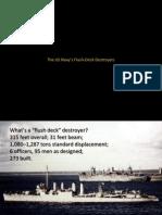 U.S. Navy Flush Deck Destroyers
