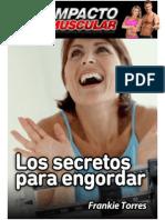 Impacto Muscular - Los Secretos Para Engordar Descargar Libro PDF