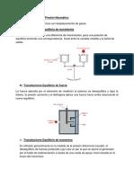 Tipos de Medidores de Presión Neumático
