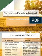 Plan de Redacción III_criterios No Válidos