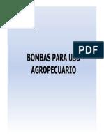 Bombas Para Uso Agropecuario