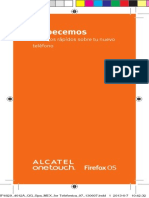 Alcatel OT-4012A One Touch Fire-Manual de Usuario
