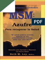 MSM, El Nutriente Olvidado