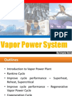 07-Vapor Power Cycles