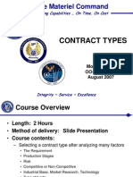 Contract Types
