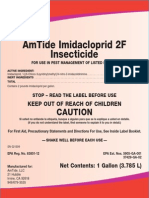 AmTide Imidacloprid 2F Label