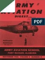 Army Aviation Digest - Nov 1956
