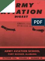 Army Aviation Digest - Oct 1956