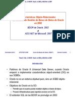 Bdor Oracle 2002 y Ado Net 2007