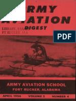 Army Aviation Digest - Apr 1956