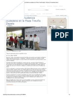 07-19-2014 'Realiza Alcalde Audiencia Ciudadana en La Plaza Treviño Zapata'